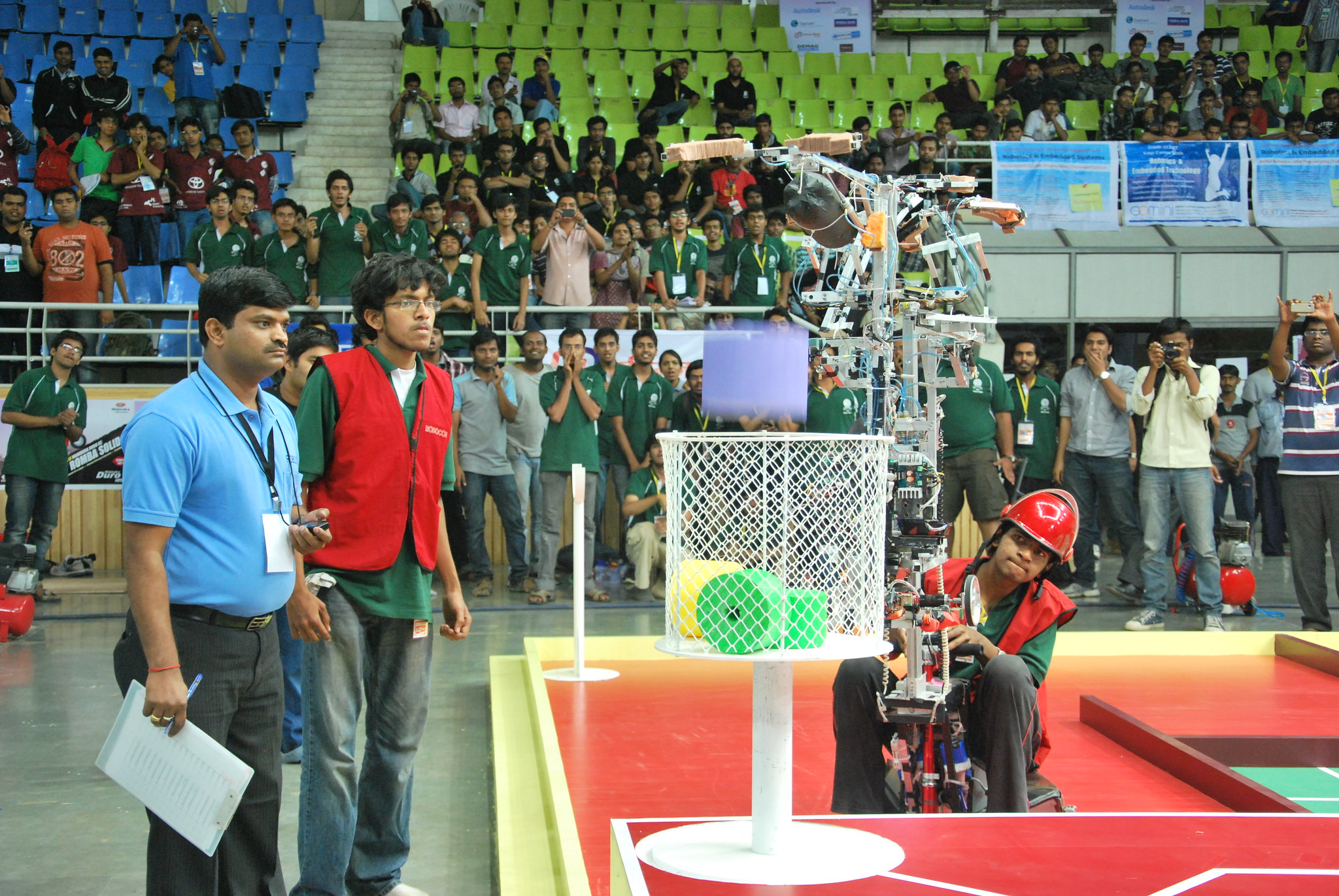Robocon 2012 MIT Tech Team Pune