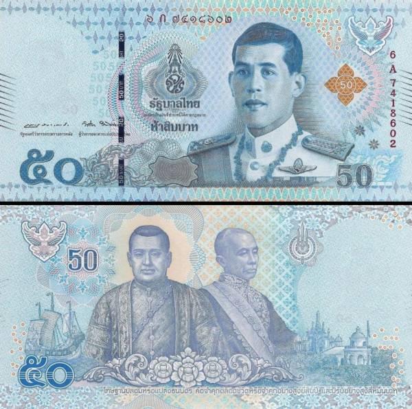 50 Bahtov Thajsko 2018, P135