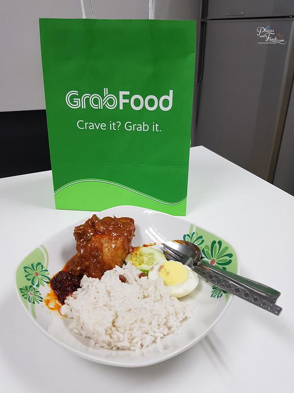 grabfood nasi lemak saleha