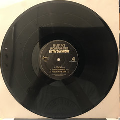 MASTA ACE INCORPORATED:SITTIN' ON CHROME(RECORD SIDE-A)