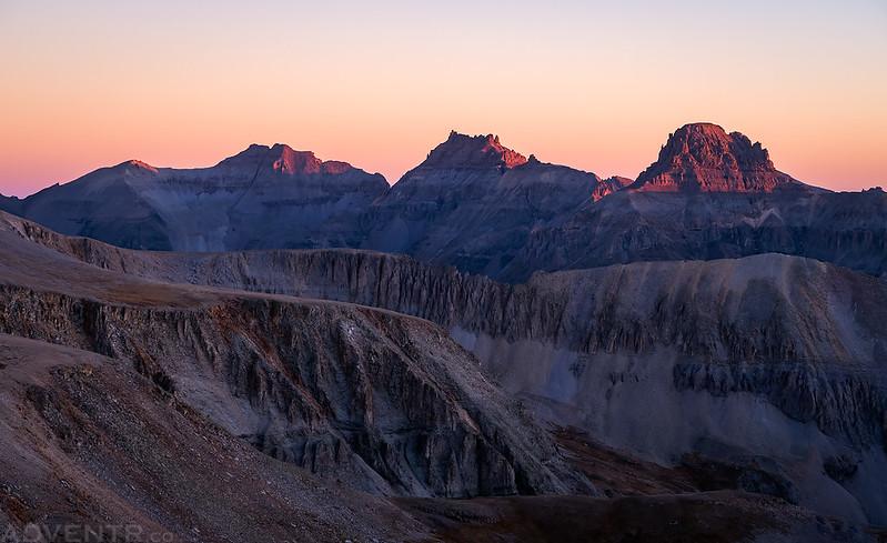 Sneffels Range Sunrise