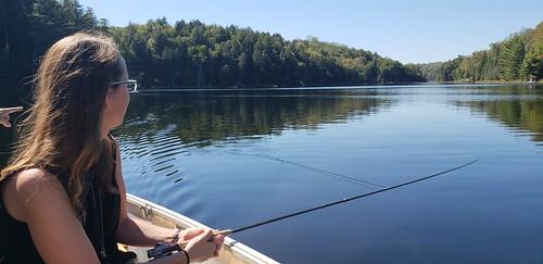 I am fishing!