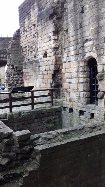 Heron Pit Prison and Drawbridge Pit, by Black Gate, Newcastle