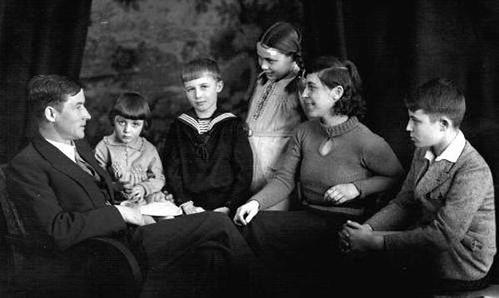 Wilm Hosenfeld e famiglia