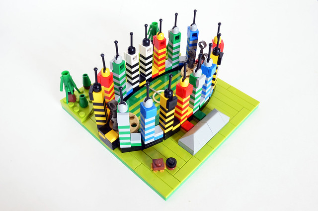 Micro Quidditch LEGO Harry Potter