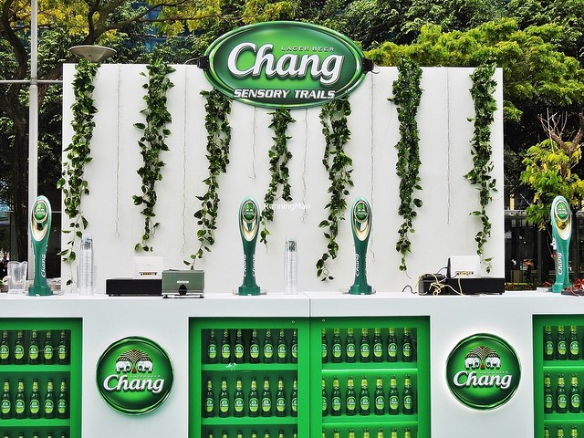 Chang Beer Stall