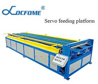 Servo feeding platform