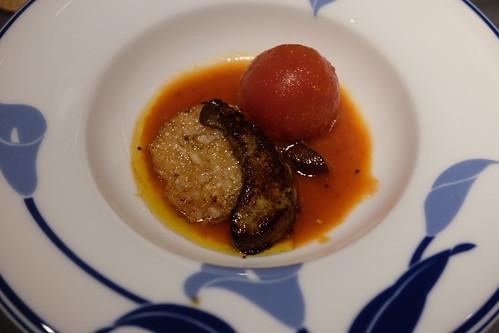 炊合せ「元祖 フォアグラトマト」