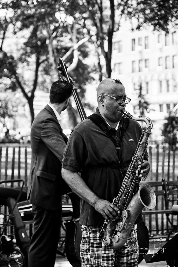 NYC Street Performer