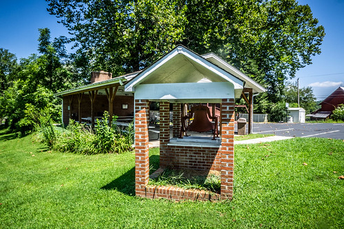 Mountain Lily Bell at Horse Shoe Baptist Church