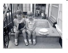 Wanda 4 and Susan 2 8-12-1970