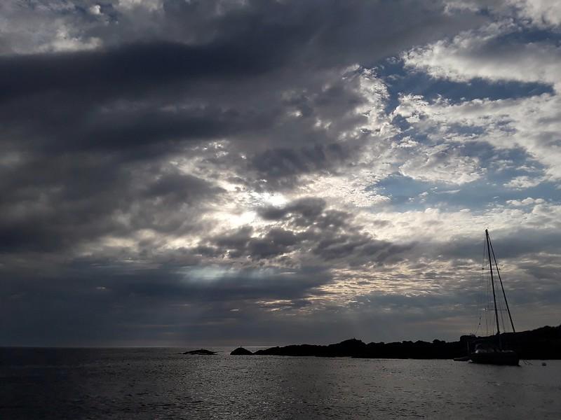 S/V EXIT at Seguin Island