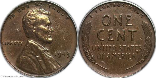1943 copper cent