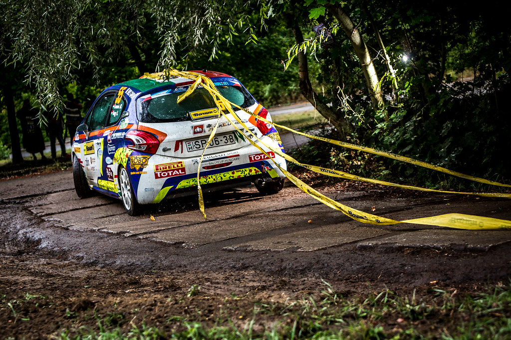 55 Csomos Miklos, Nagy Attila, HUN/HUN, Credobus LPWM Sport Kft, Peugeot 208 R2, Action during the 2018 European Rally Championship ERC Barum rally,  from August 24 to 26, at Zlin, Czech Republic - Photo Thomas Fenetre / DPPI
