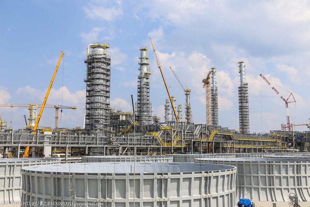 Самая большая нефтехимическая стройка России