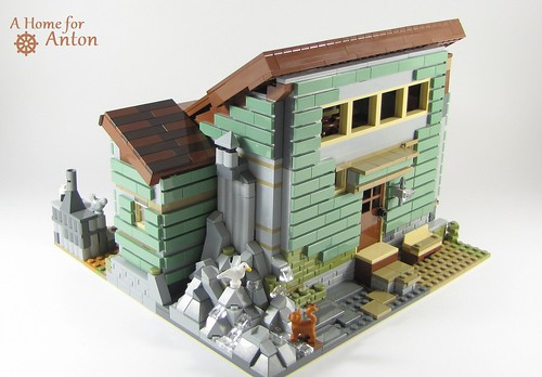 A Home for Anton - My ReBuild of 21310 Old Fishing Store (LEGO Ideas)