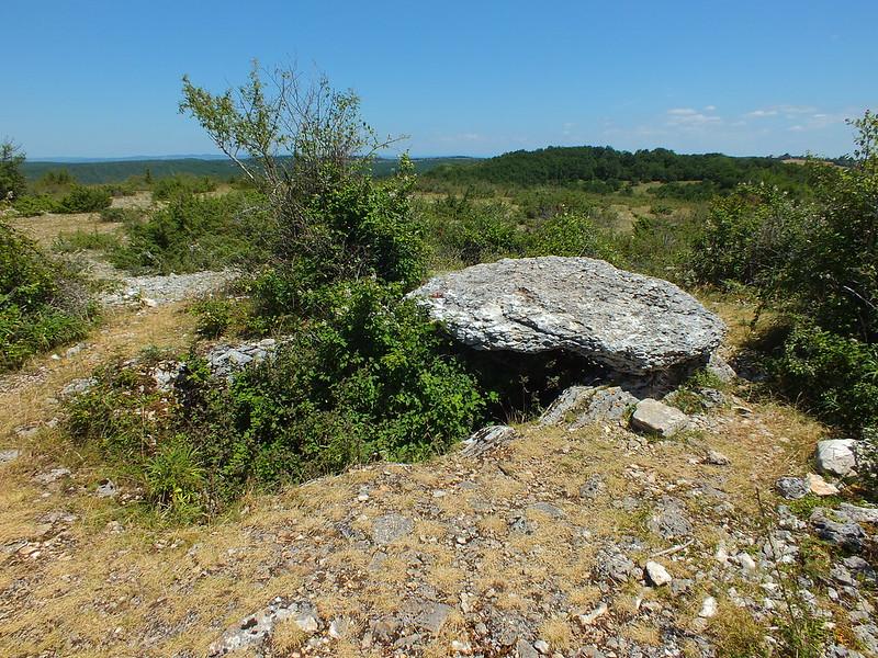 [129-002] Gréalou - Dolmen du Pech Laglayre 1