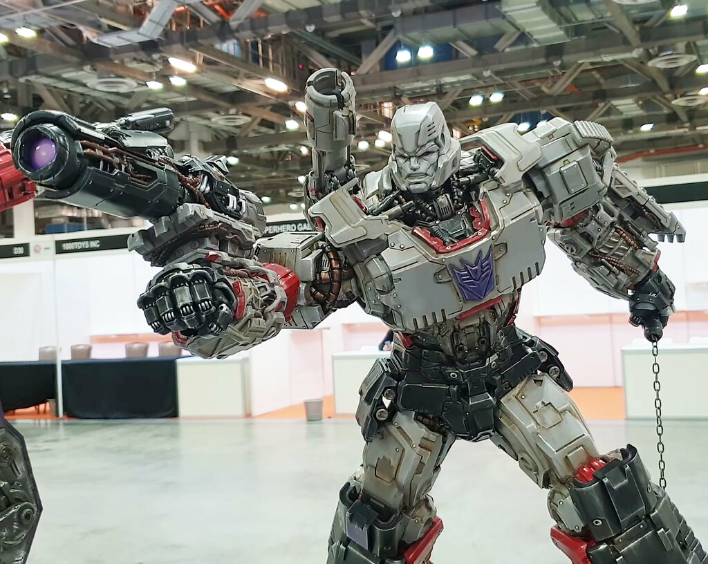XM Studios Transformers Premium Collectibles Megatron 1/10 Statue Prototype Revealed!