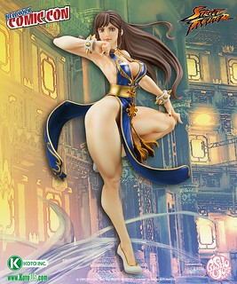 NYCC Exclusive Street Fighter Chun-Li -Battle Costume- Bishoujo Statue