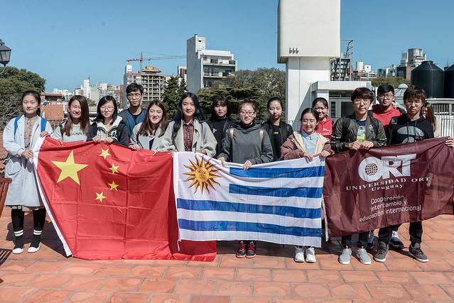 Bienvenida a estudiantes de China - setiembre de 2018