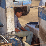 People of the Port: Boy Selling Shark