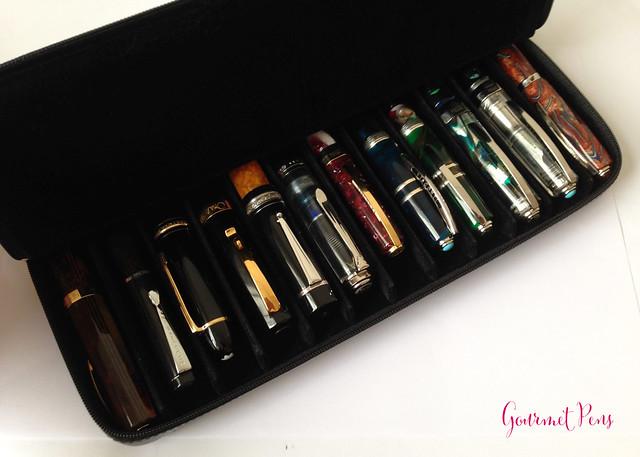 Visconti Zippered Leather Pen Cases @AppelboomLaren @CouronneduComte 7