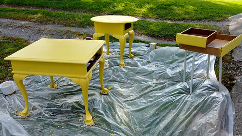 9. Do not sand the last coat of paint. Let cure 30 days! (or cover in a coat or two of Polycrilic, similar to steps 6 & 7)