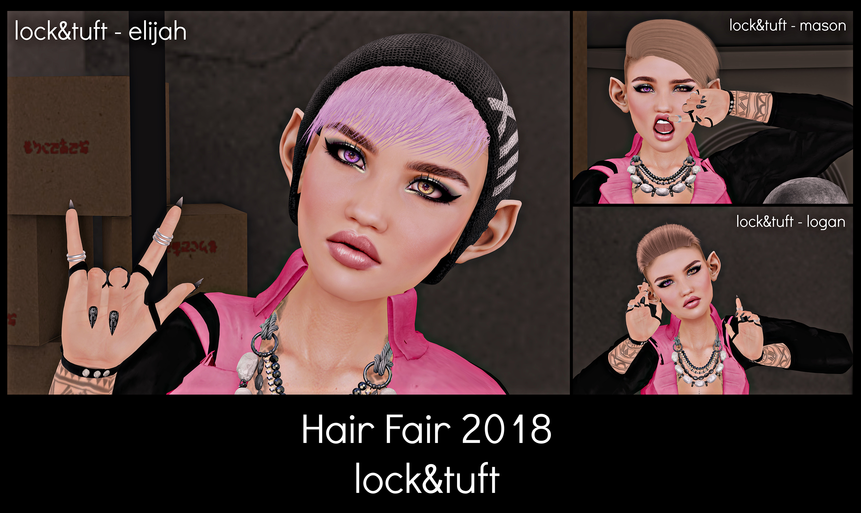 Hair Fair 2018 - lock-tuft