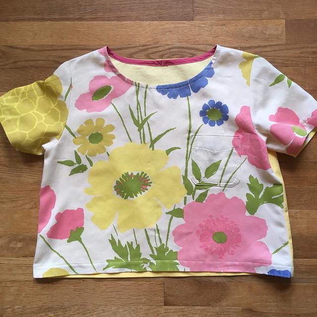 A Boxy Woven T-Shirt:  Butterick 5948