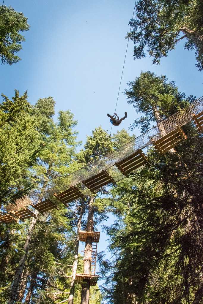 Grouse Mountain Ropes Adventure