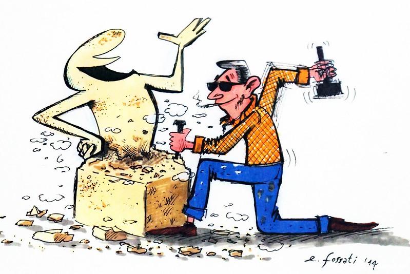 Рисунок Эмануэле Фоссати