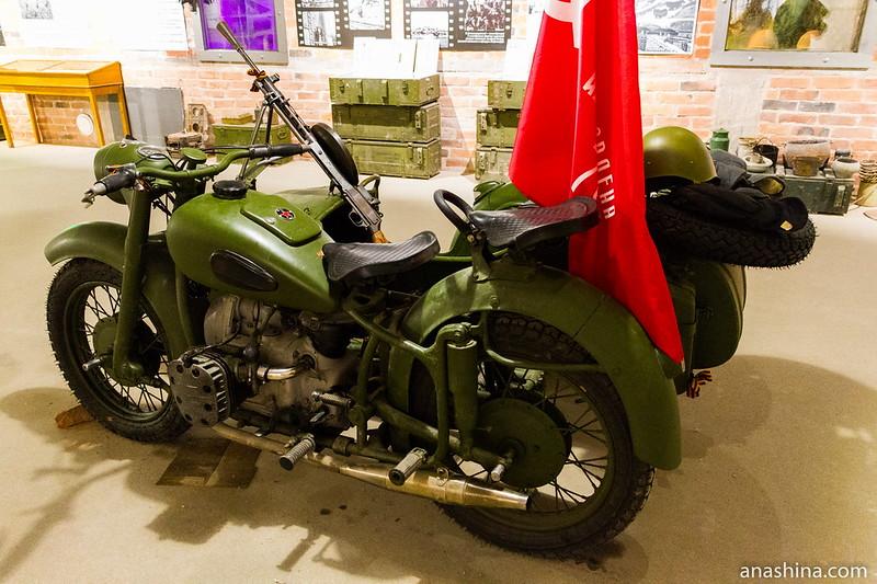 Советский тяжёлый мотоцикл М-72