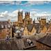Rooftop view, Edinburgh