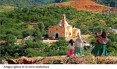 Iglesia antigua - sierra de Tarahumara