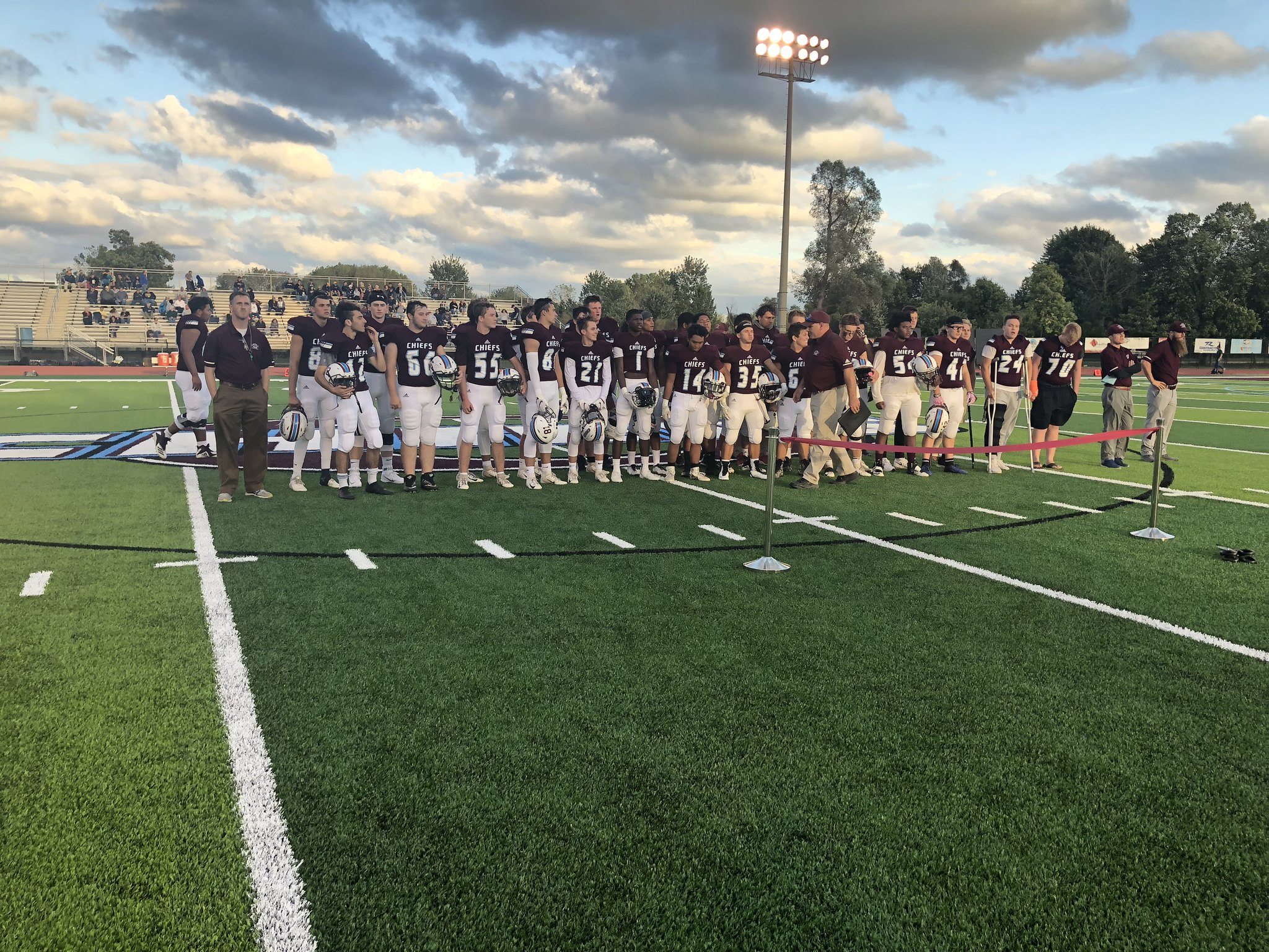 Okemos Stuns Grand Ledge in First Game on New Turf