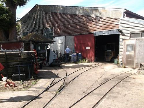 Bressingham shed
