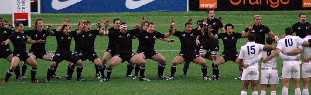 All Black perform the haka