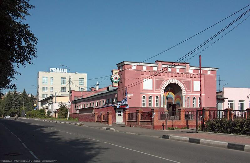 Фрязино, Вокзальная улица.