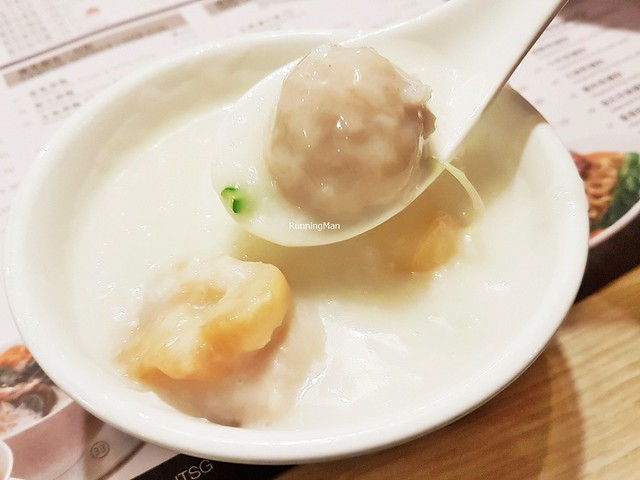 Congee Pork Meat Ball