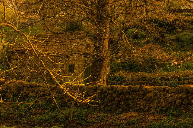 The old stone shed, Sony ILCA-77M2, Sony 85mm F2.8 SAM (SAL85F28)