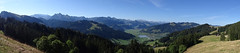 Ausblick in Richtung Sihlsee