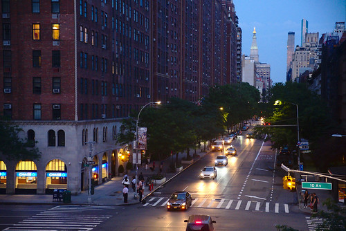 West 23rd St, from the High Line