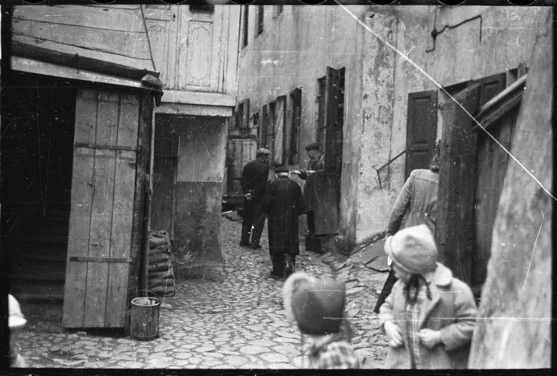 1940. Еврейский квартал