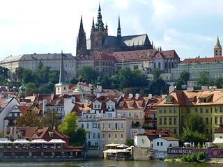 Prague, Czech Republic from the boat trip