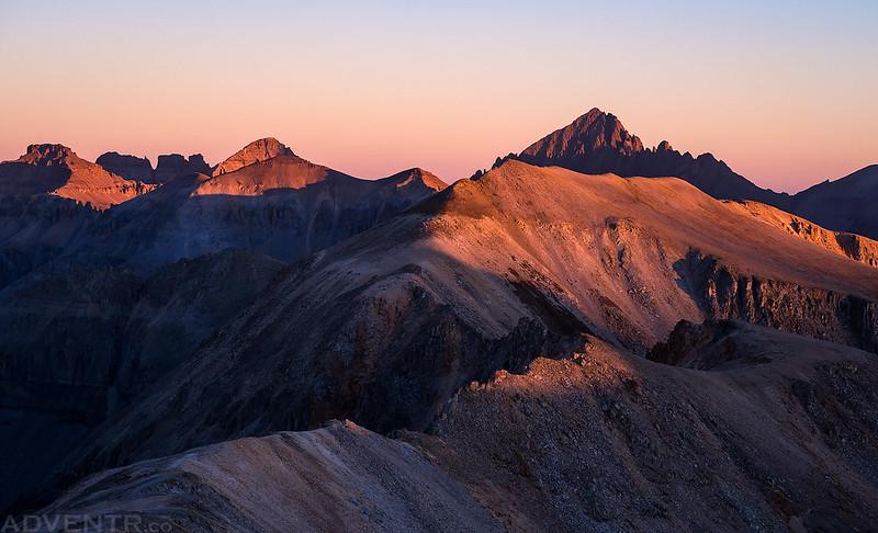 Mount Sneffels Sunrise