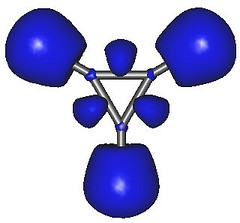 Cyclopropenyl Cation Molecule