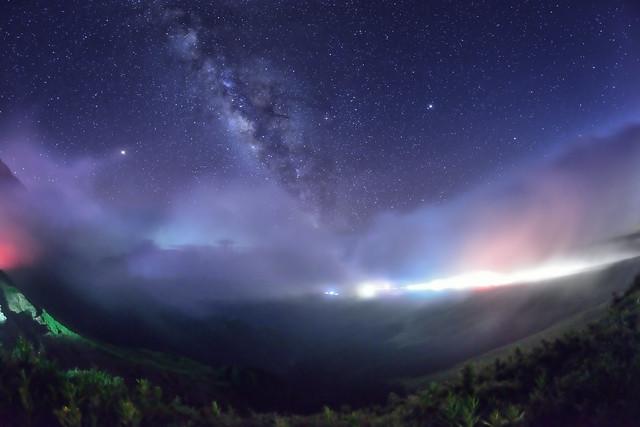 Milky Way, Mountain Hehuan