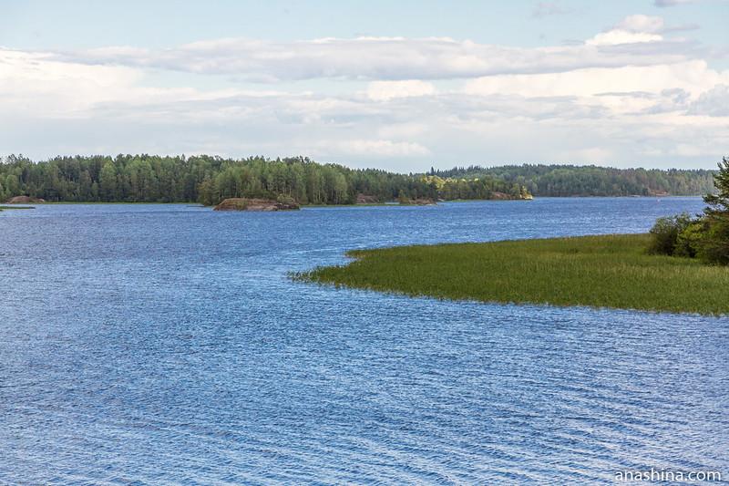 Залив Лехмалахти, Берёзово, Ладожское озеро