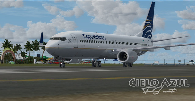 Copa Airlines (HP-1716CMP) v2.5