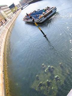 Agnete and the merman - underwater art in Copenhagen, Denmark